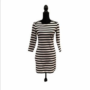 Juicy Couture stripped mini dress size extra small